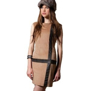 Alberto Makali Vegan Suede Mod Dress Medium